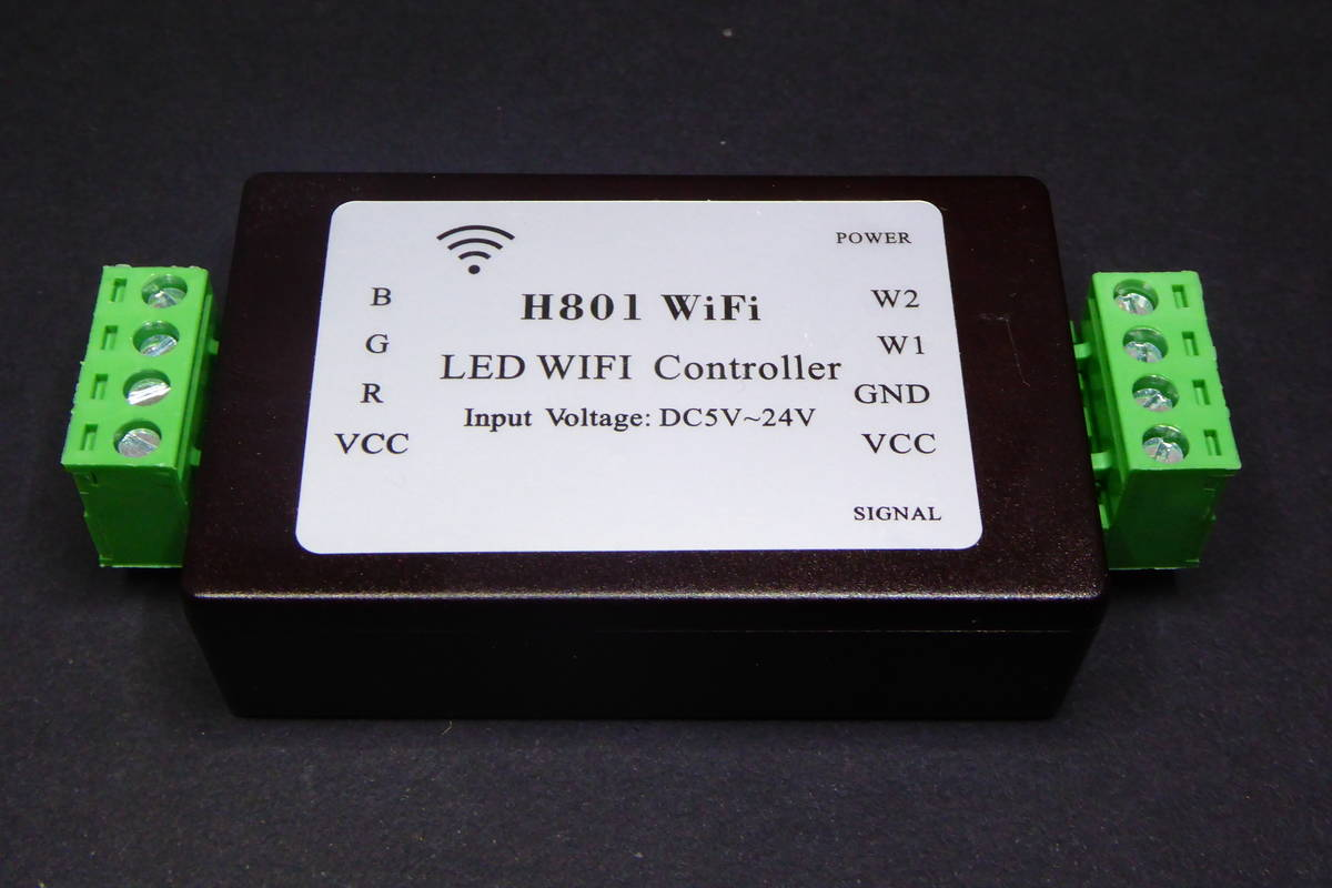 A Closer Look at the H801 LED WiFi Controller - Tinkerman