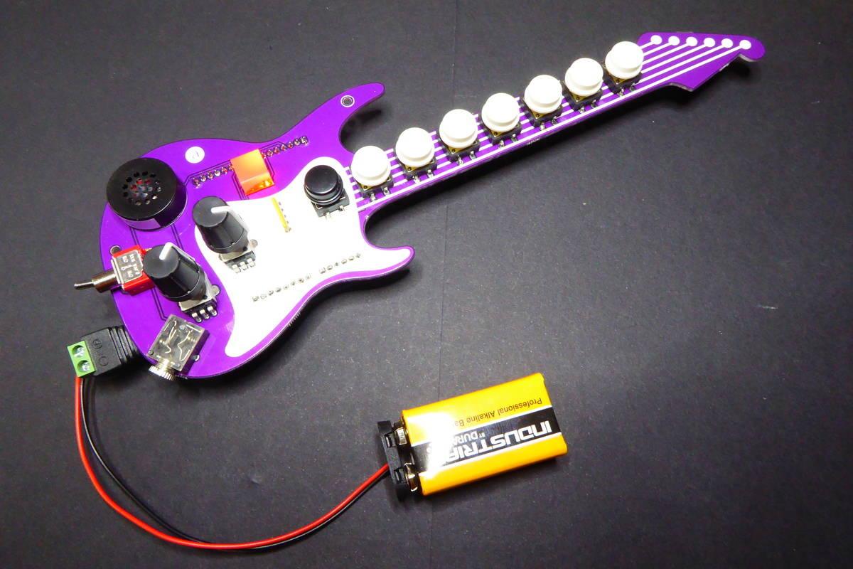 Fenderino, the Coolest Guitar - Tinkerman