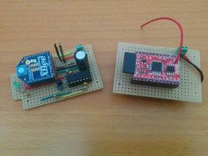 Door Monitor with XBee and Monteino