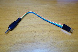Testing cable for the Sonoff TH10 sensor interface