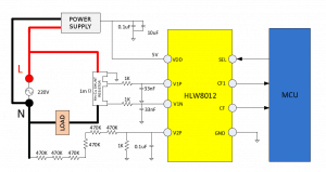 HLW8012 typical application
