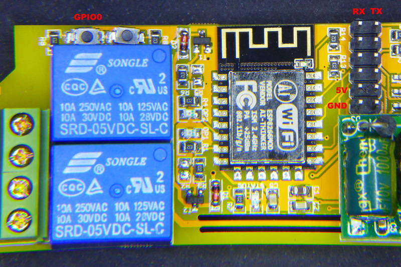 Esp8266 Multi Relay Boards Sonoff Dual And Electrodragon Tinkerman Solid State Relaypdf File Right Pinout In The